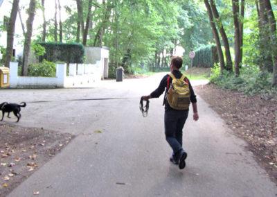 Mantrailing Stadttrailen in Kleve